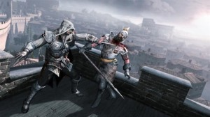 ezio fighting