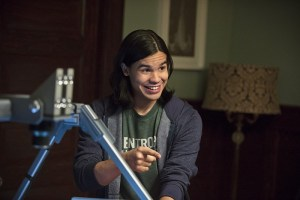 Cisco spends a surprising amount of time studying his pop culture.