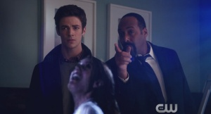 It's a tough pill to swallow as Barry learns who was there the night his mother died.